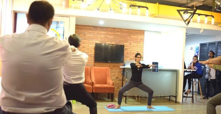 Office Yoga Corporate Company