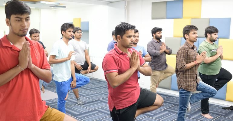 Corporate Wellness For Employees Office Yoga Sessions