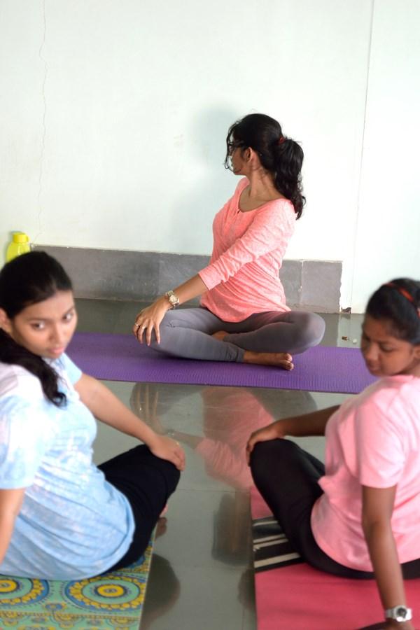 Employees Doing Yoga Mumbai