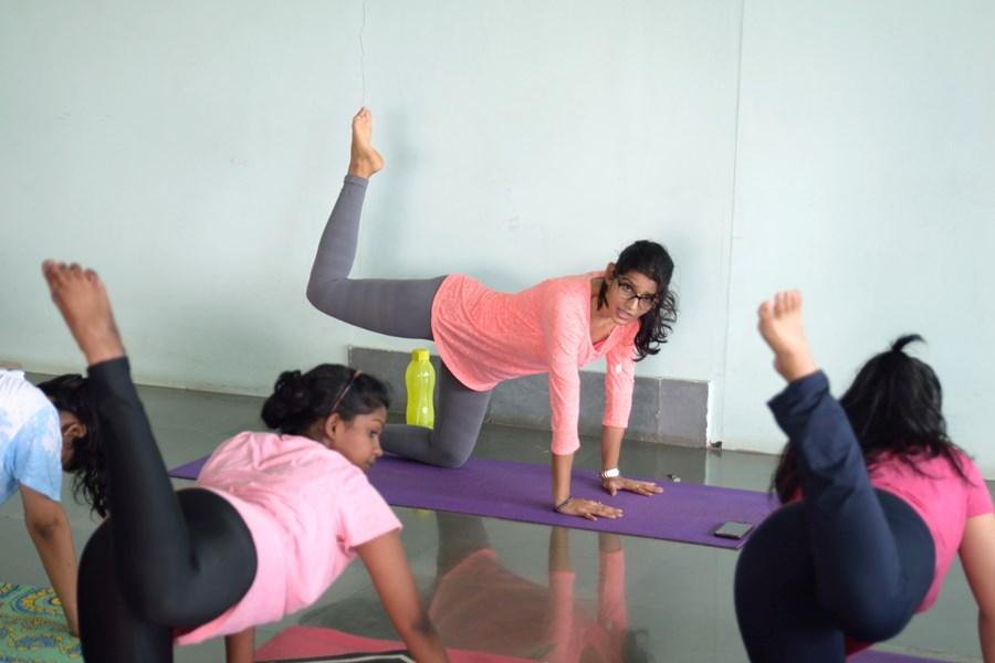 Female Yoga Instructors India