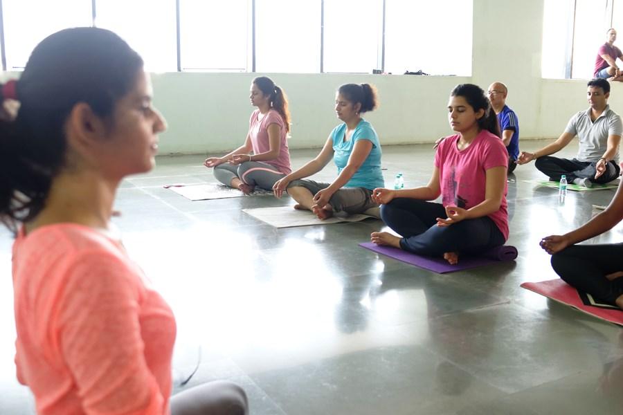 Teaching Yoga Employees