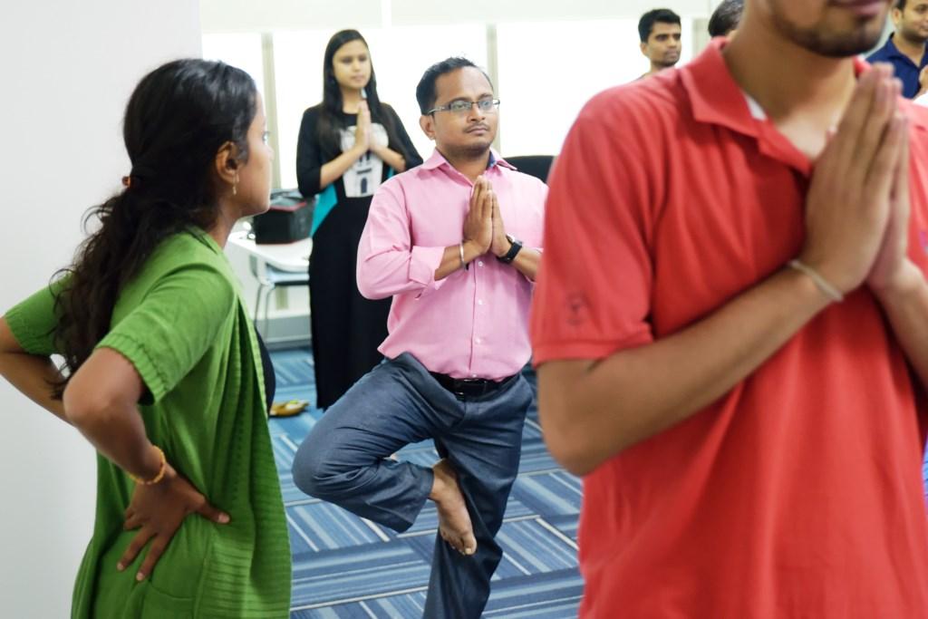 office yoga companies india