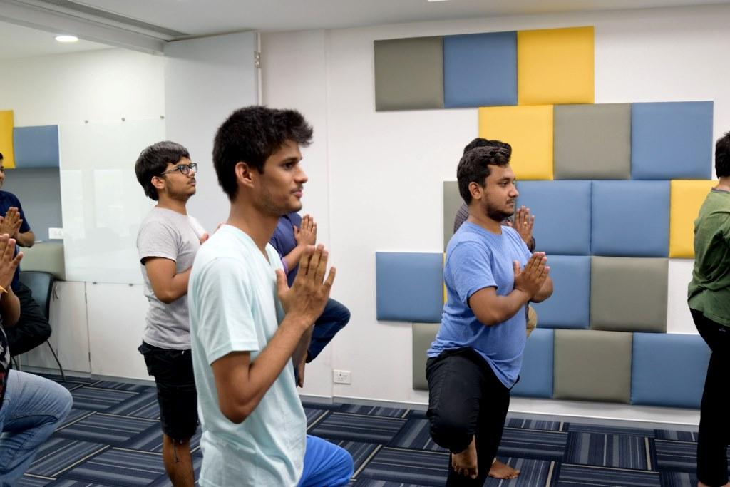 corporate yoga workshops
