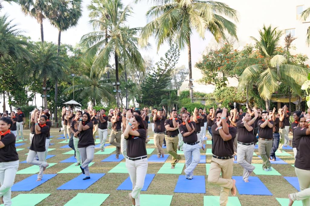 Corporate Yoga in Mumbai India