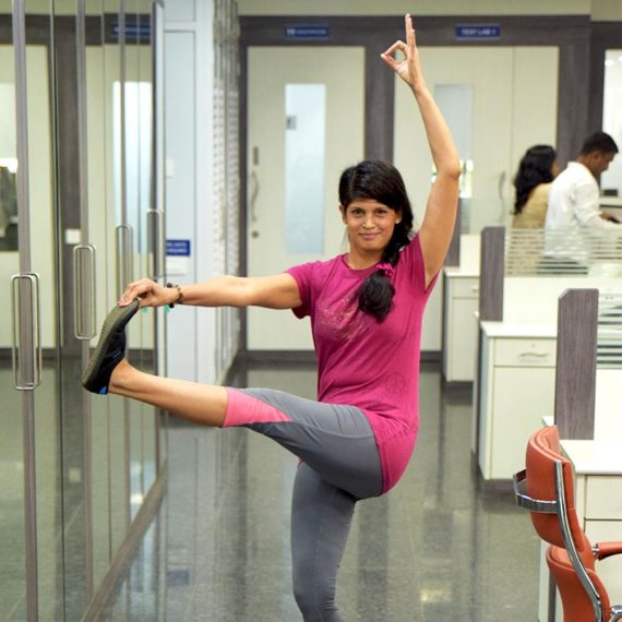 Female yoga trainers Powai