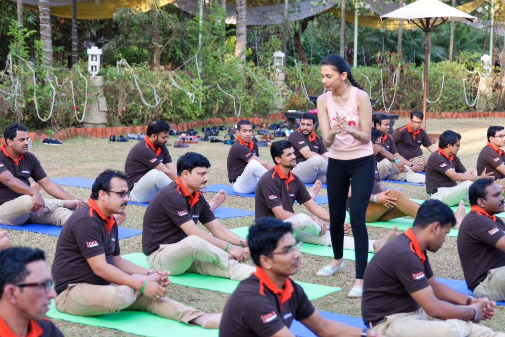Outdoor Corporate Fitness Session