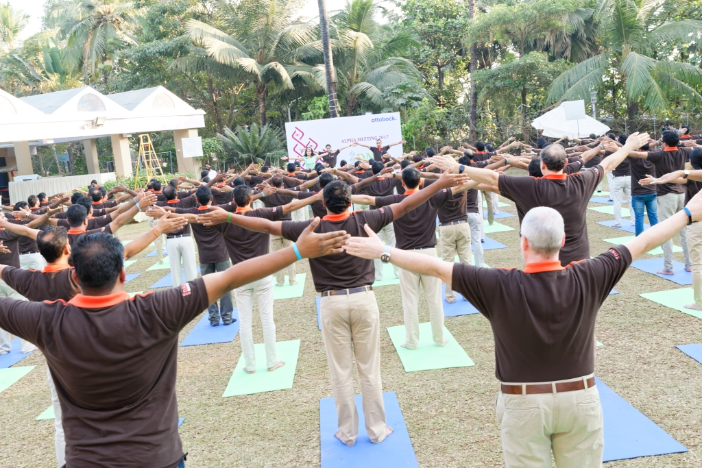 Outdoor Fitness Event