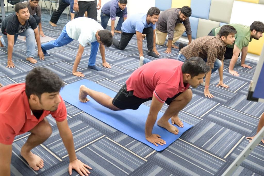 office yoga demo andheri