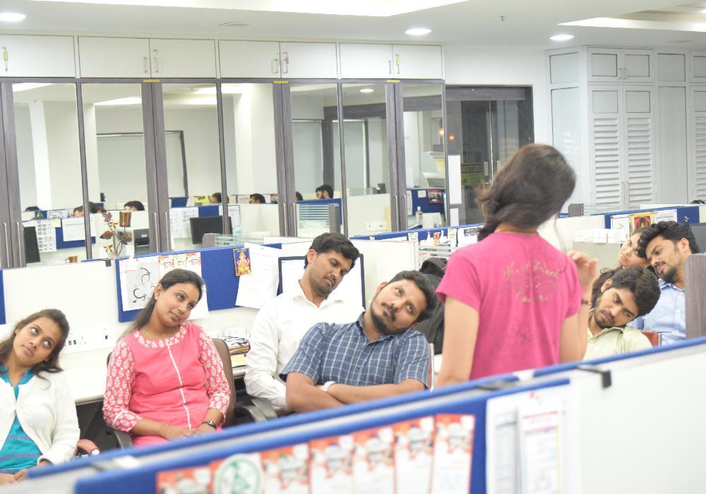 Yoga At Office in Mumbai