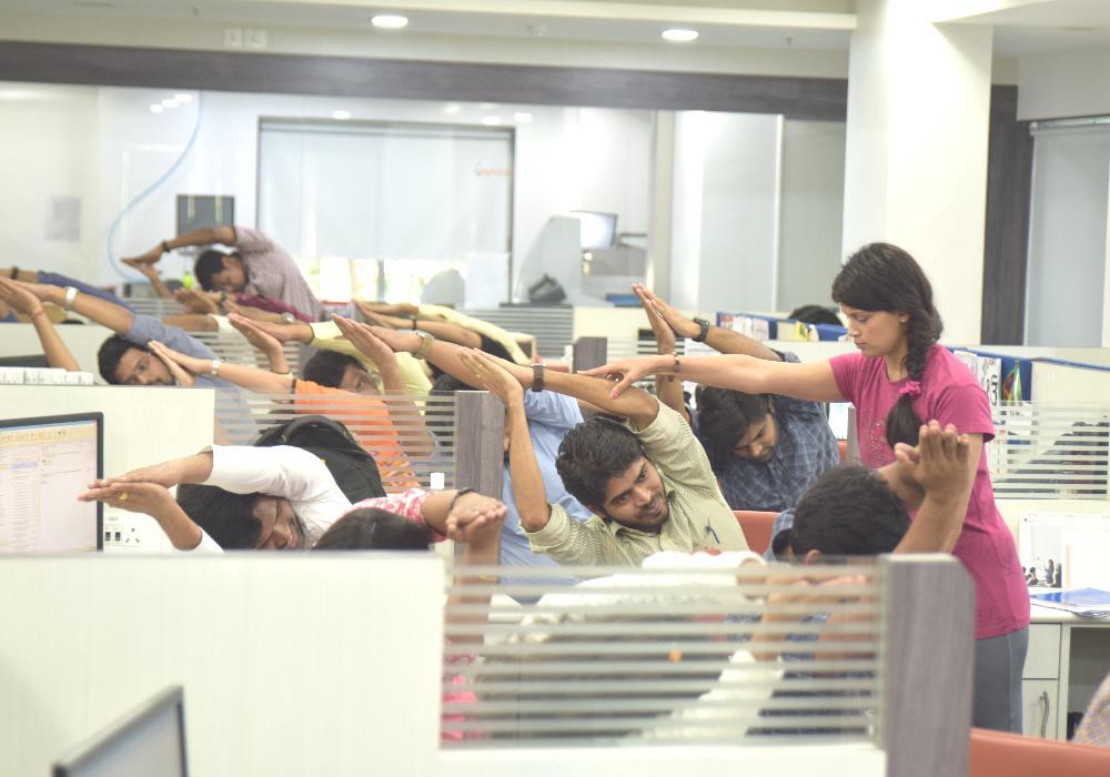 Employee Yoga Fitness