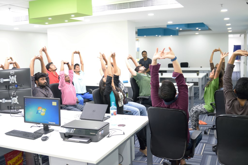 corporate yoga sessions