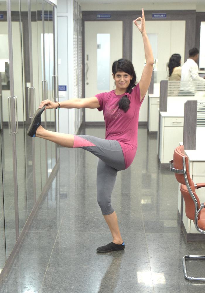 yoga instructor Tarika
