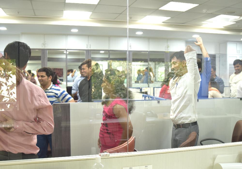 Yoga Teacher at Office