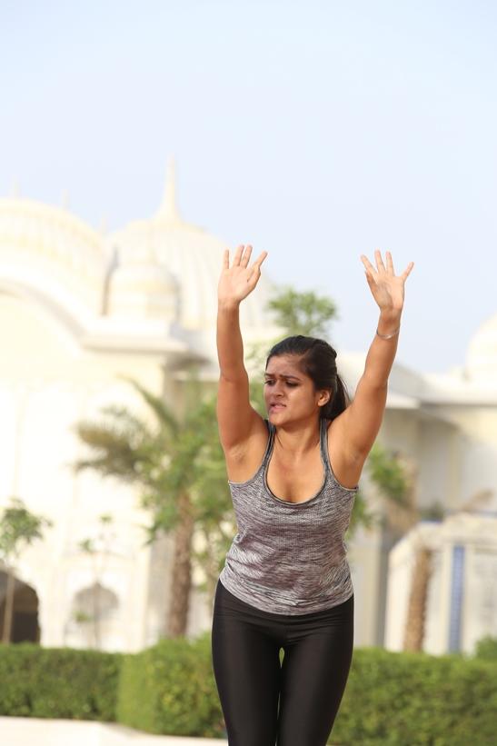 Beautiful Yoga Trainers India