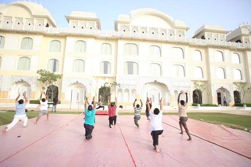 Corporate Yoga Sessions in Jaipur