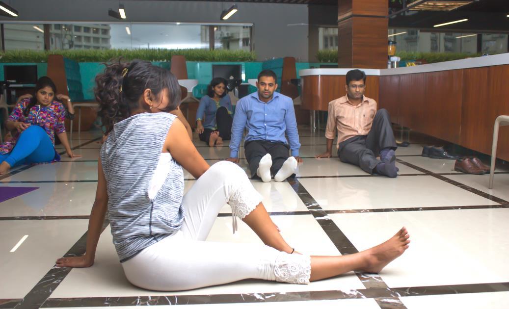 Female Yoga Teacher
