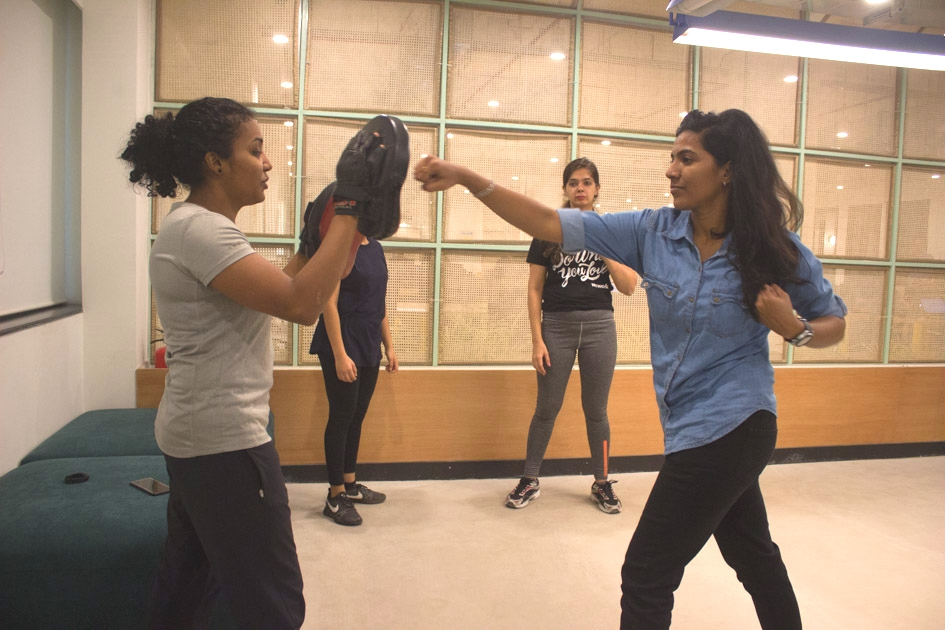 Kickboxing Wellness Session at Companies