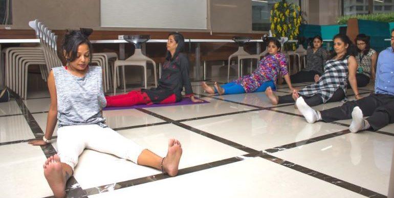 Yoga workshops on Yoga Day India
