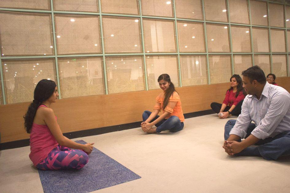 Yoga at We Work India Mumbai