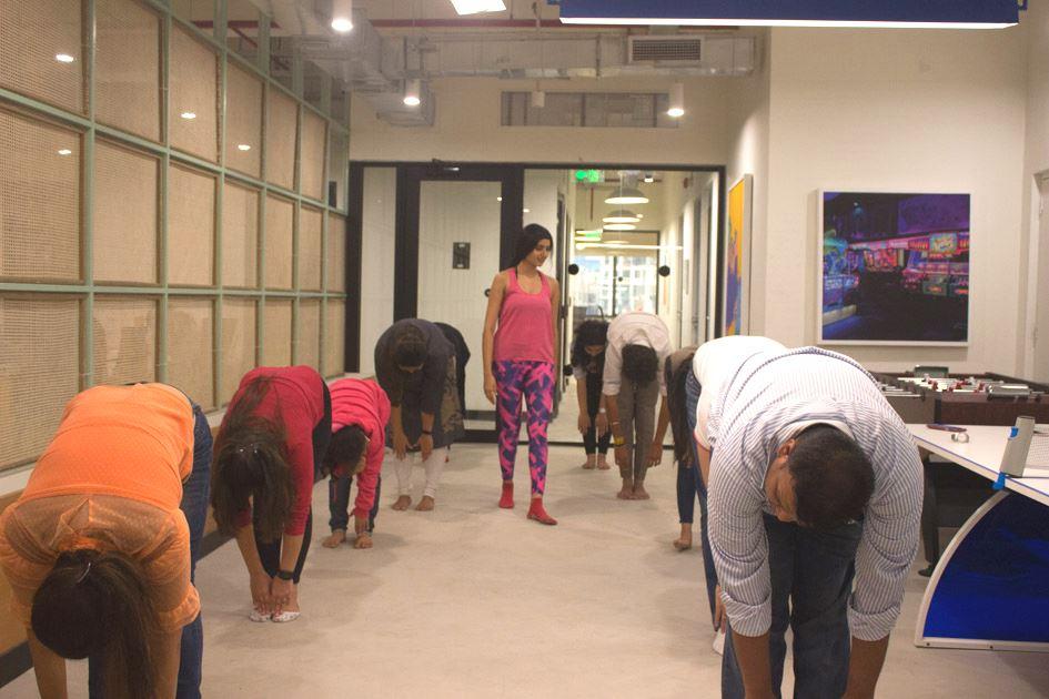 Yoga at We Work