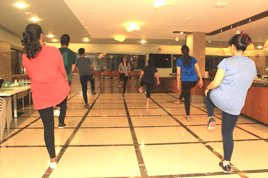 Zumba Sessions at Workplace