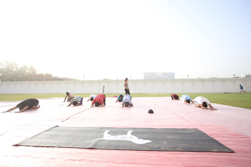 Corporate Office yoga Jaipur