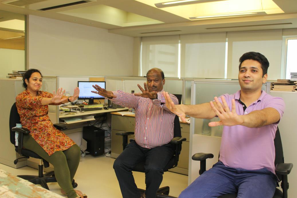 Desktop Office Yoga Companies