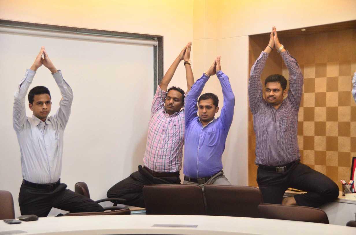 Yoga Trainers For Office Mumbai