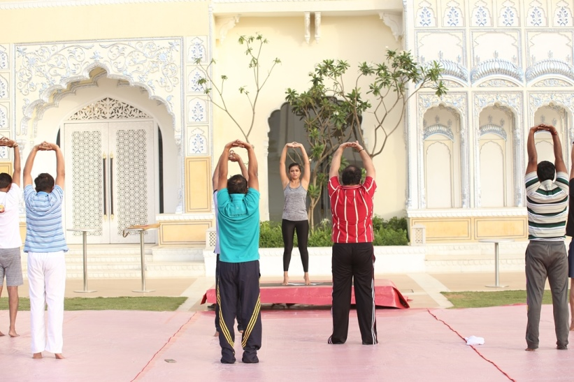 Wellness Yoga Sessions outdoors