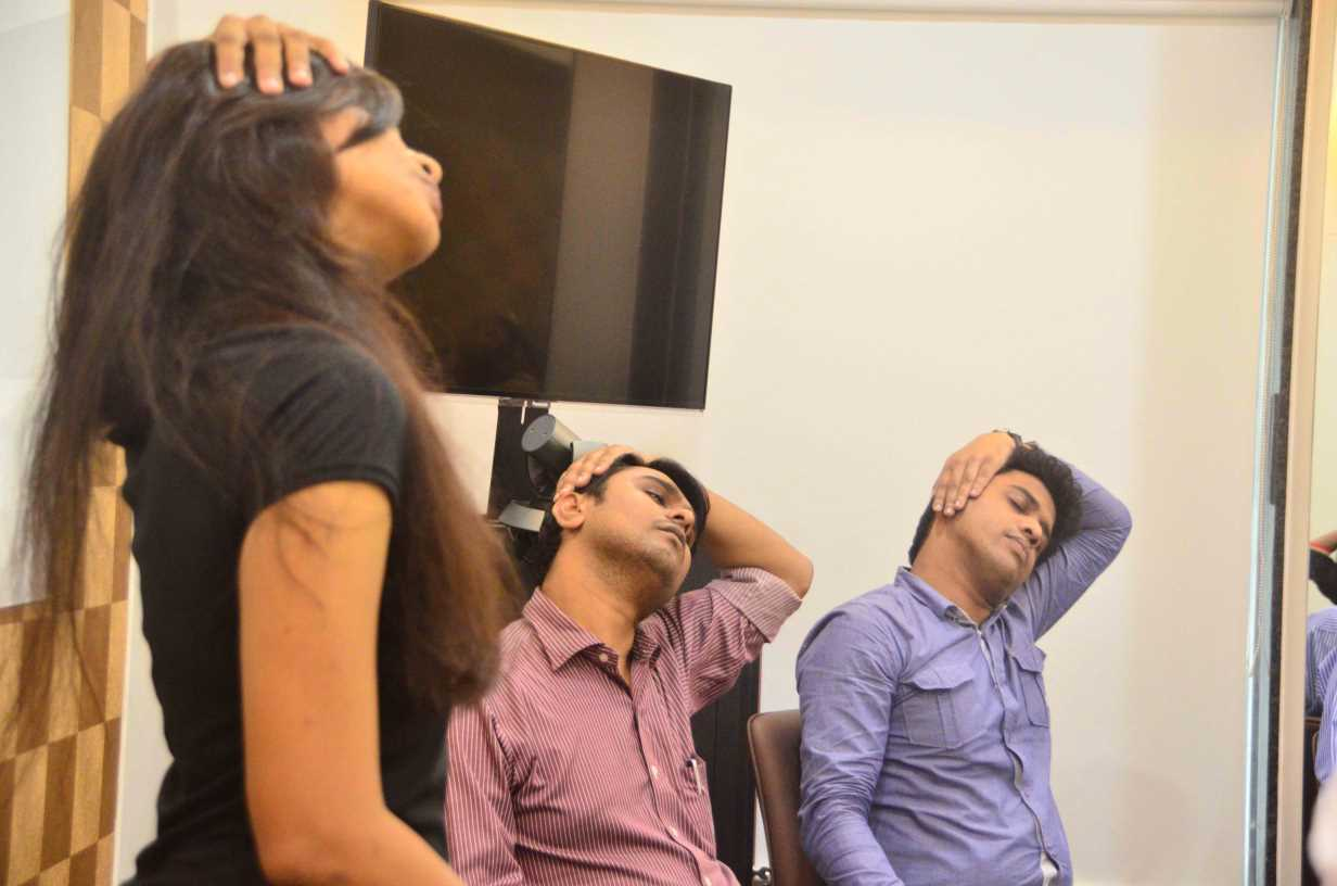 office yoga companies trainers mumbai