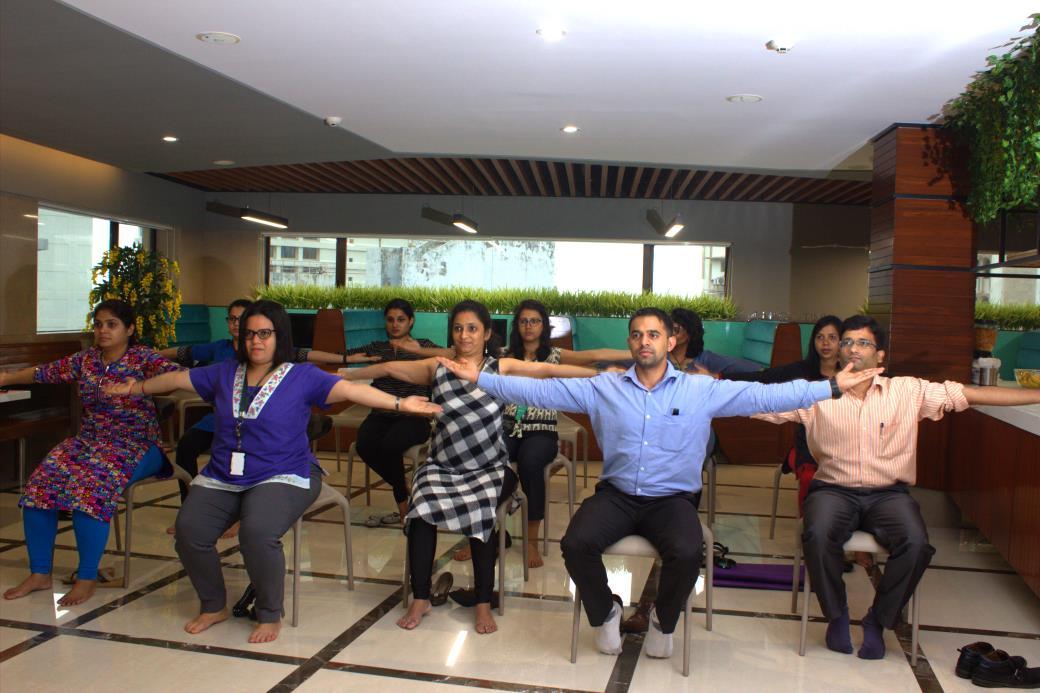 Yoga at Company India