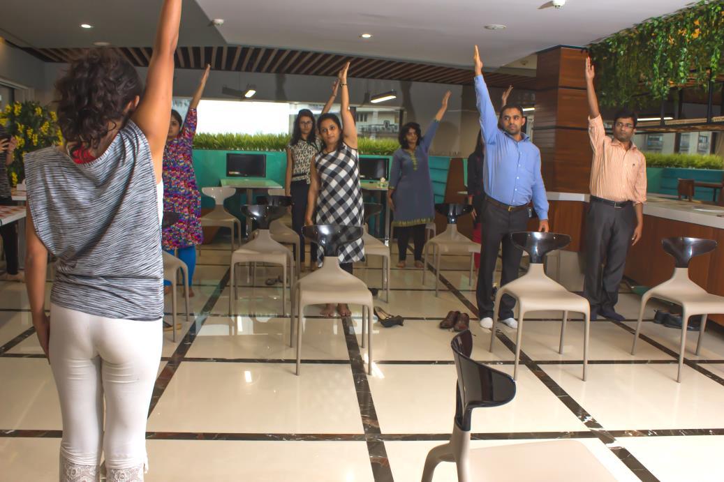 Yoga teachers training corporates