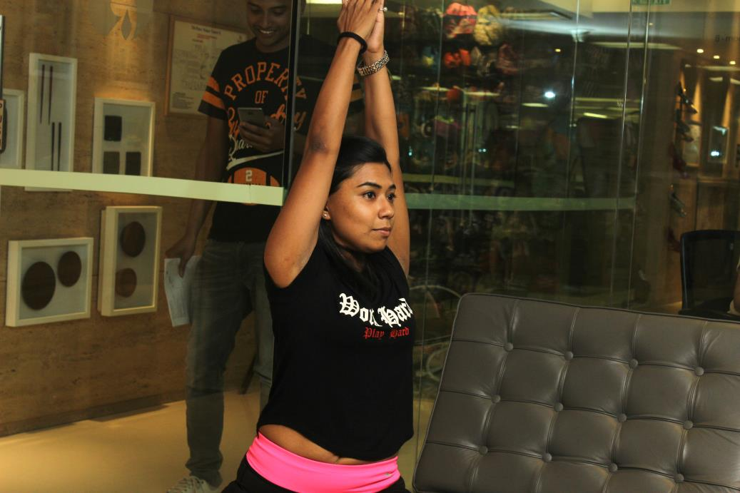 Yoga Instructor Sanchita