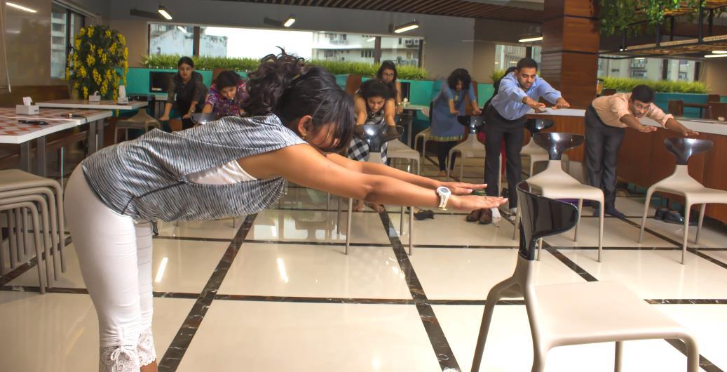 Yoga Training at Company