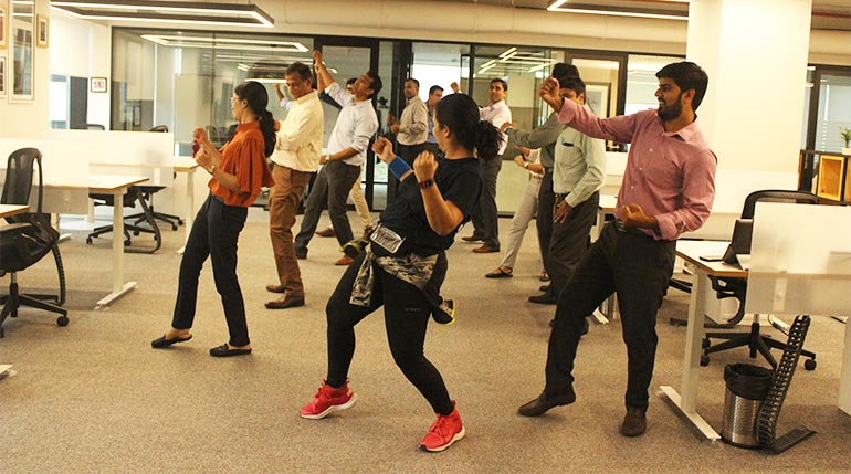Office Zumba BKC