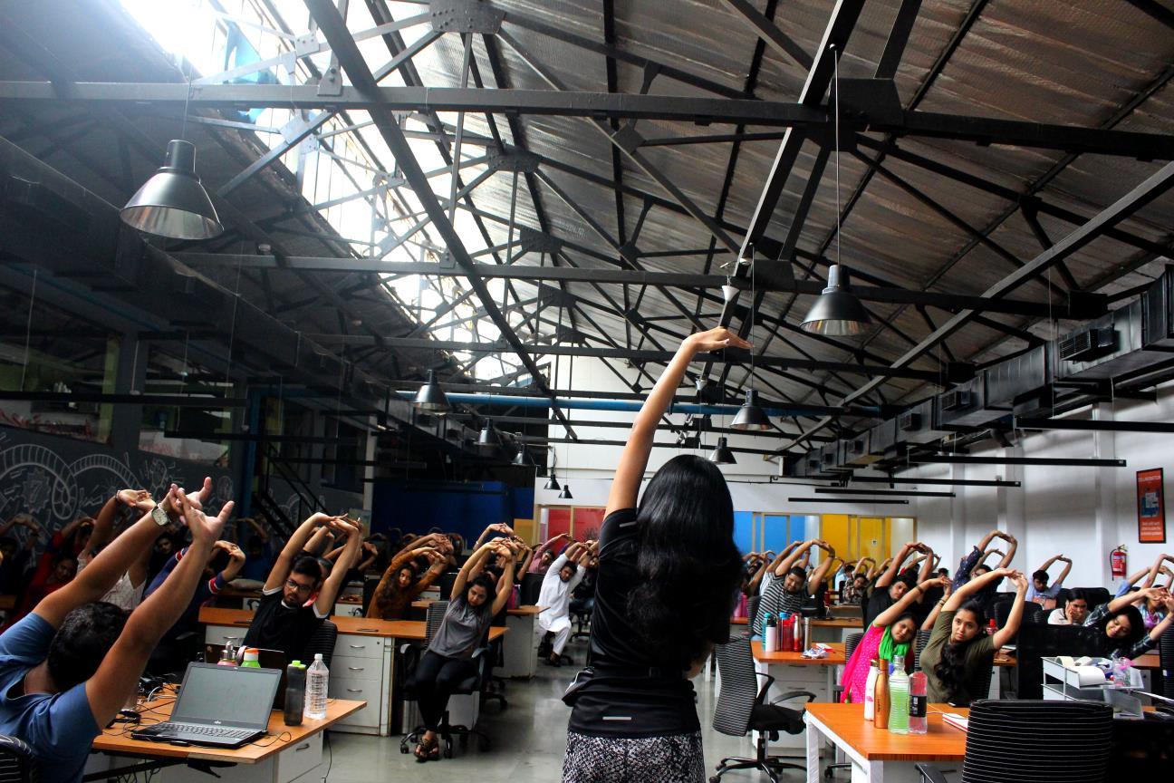 Desktop Yoga Corporate Companies
