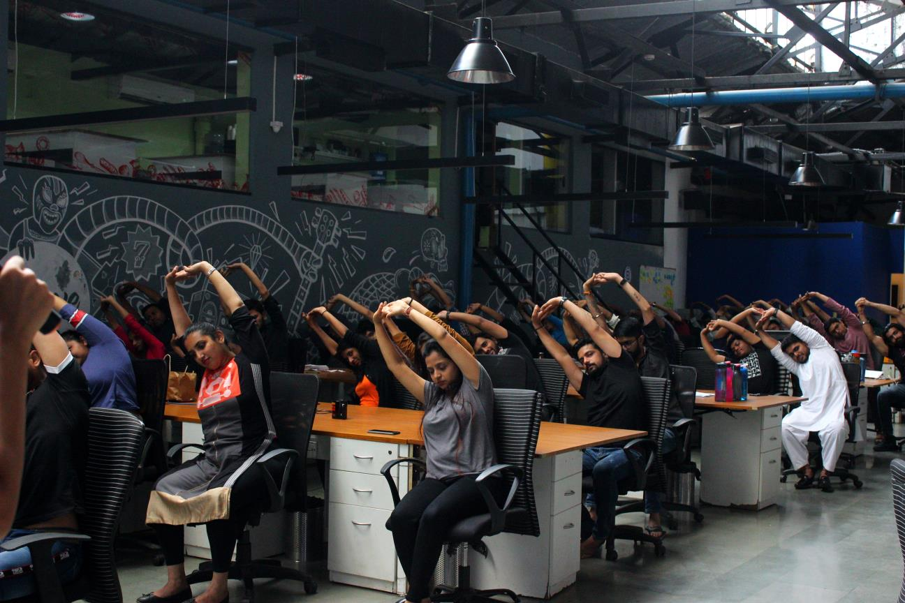 Office Yoga for Employees India