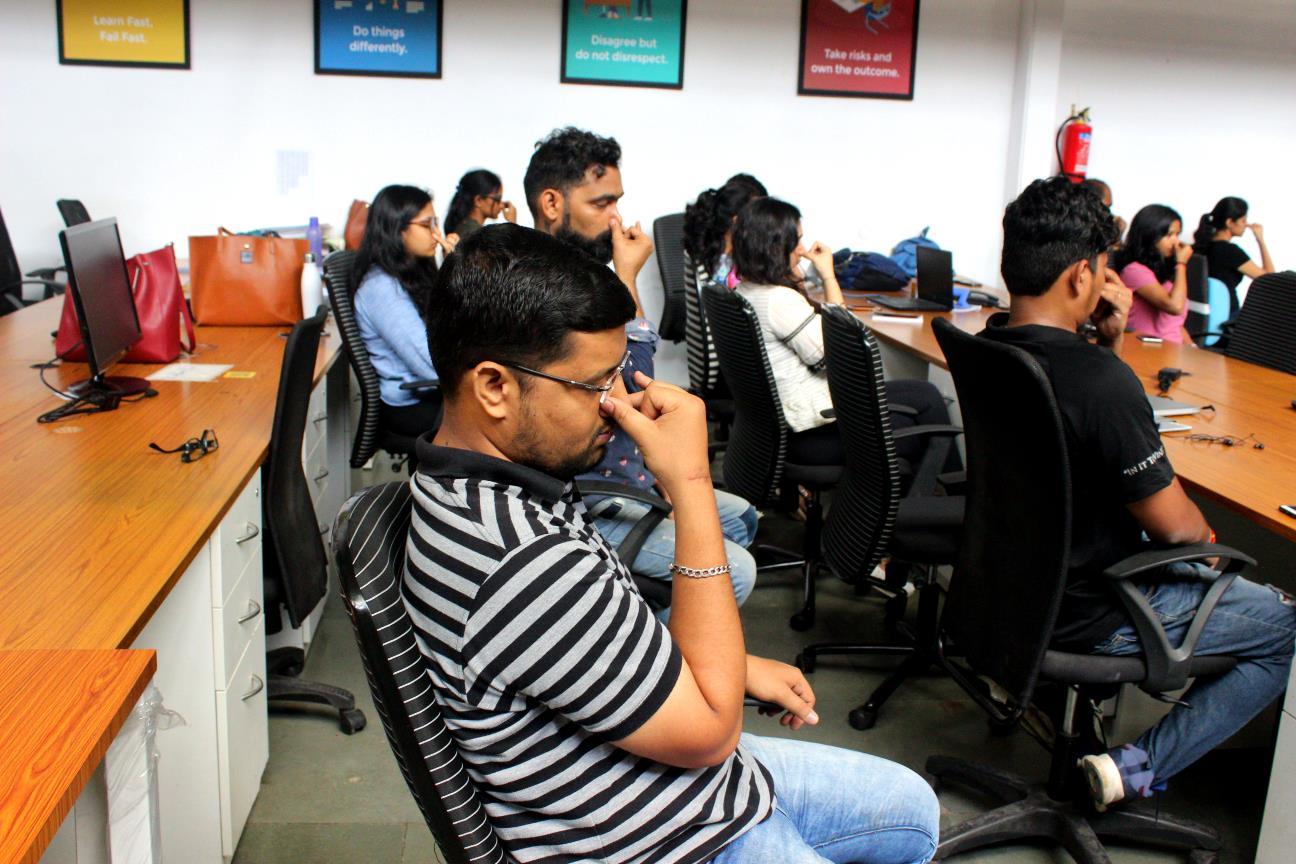 Pranayama at Offices