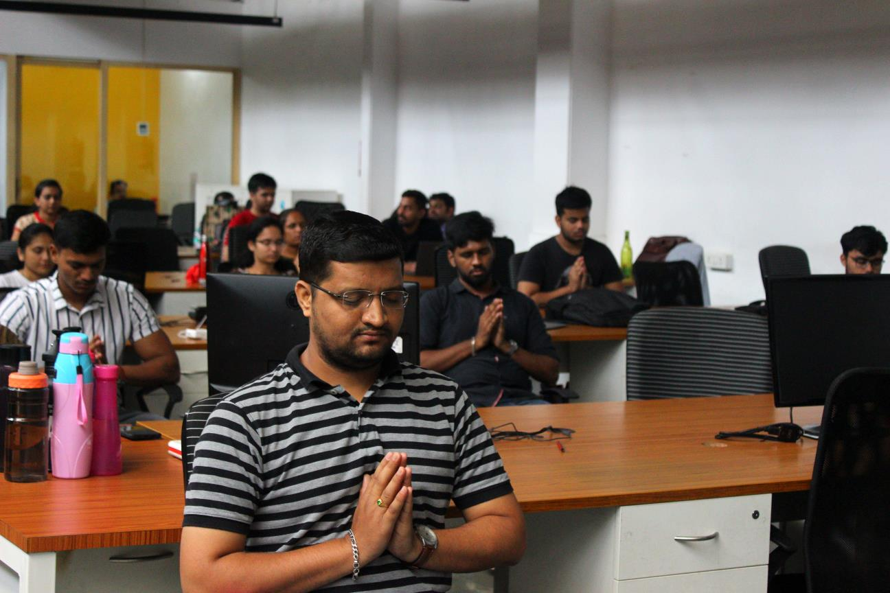 Yoga at Office India