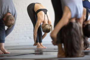 guided yoga class by experienced instructors