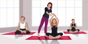 art of being a yoga trainer