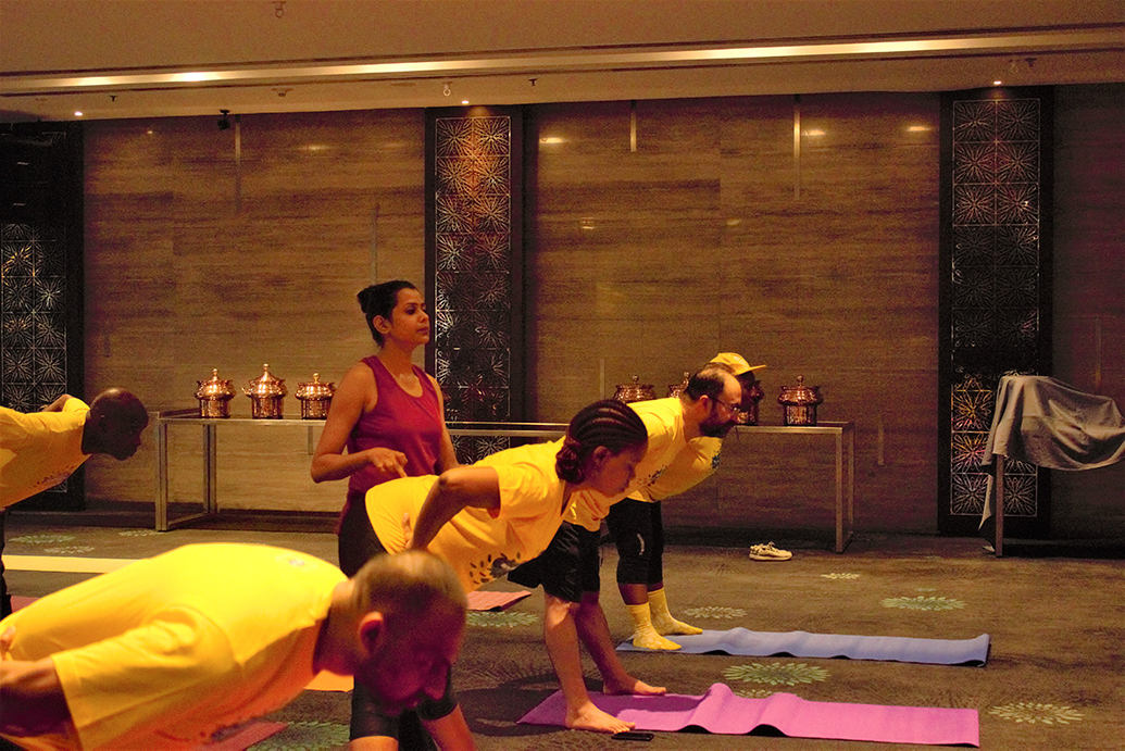 Corporate Group Yoga Mumbai