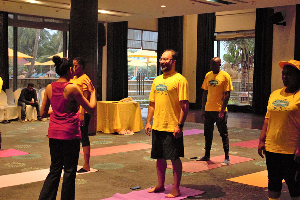 Wellness yoga sessions
