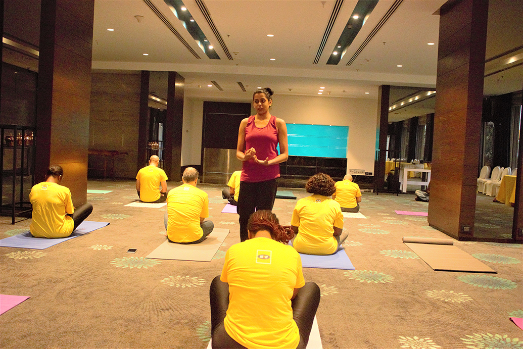 Yoga Teacher Training Employees