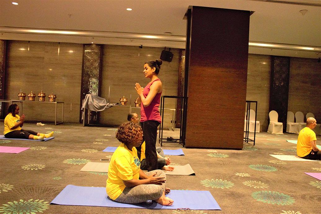Yoga Trainer Ashika Jain