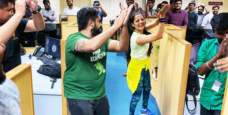 Zumba Dance Session at Byjus
